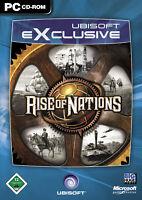Rise Of Nations PC Ubisoft DVD Runden- und Echtzeitstrategie Strategiespiel OVP