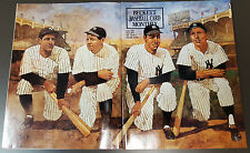 MANTLE/DIMAGGIO/RUTH/GEHRIG BECKETT BASEBALL MONTHLY COVER JUNE 1991! BONUSES!