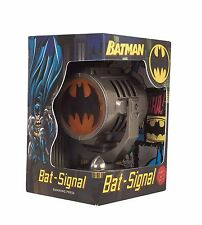 BATMAN'S BATSIGNAL BAT SIGNAL ADAM WEST DIE CAST, PROJECTS 20 FT., WITH BOOK