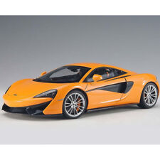 Autoart McLaren 570S 1:18 Model Car Orange / Silver Wheels 76044