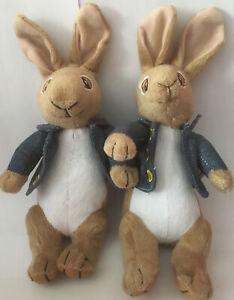 "x2 Movie Peter Rabbit 9"" Soft Plush Toy - SC Promidea - Brand new"