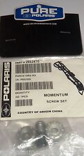 POLARIS OEM NOS SNOWMOBILE  ATV MOMENTUM HELMET SCREW SET	2852470