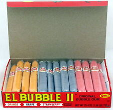 El Bubble II Gum Candy Cigars 36 Ct Bulk Candies Bubblegum Cigar Assort Flavors