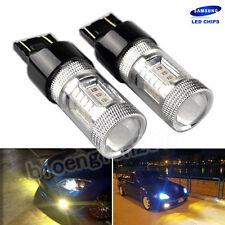Amber/Gelb T20 582 7440 W21W 580 LED Tagfahrlicht Signallicht Bremslicht Lampe