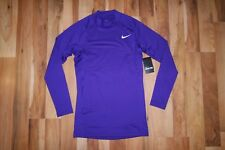 Nike PRO COMBAT COMPRESSION HYPERWARM LS TURTLE NECK TEE SHIRT 689245 547 L NEW