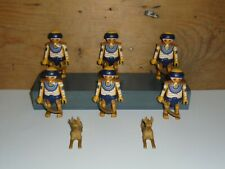 PLAYMOBIL -  6 EGYPTIAN MUMMIES  WITH ACCESSORIES