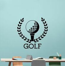 Golf Wall Decal Sport Ball Logo Gym Vinyl Sticker Decor Poster Art 137nnn