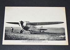 CPA 1920-1930 AVIATION AVION BERNARD C.I.D.N.A. AERODROME DU BOURGET