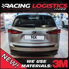 LEXUS NX SUV CARBON 3M VINYL REAR BUMPER TRIM PROTECTOR 2014-2019