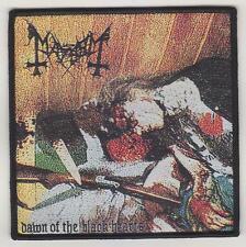 Mayhem - Dawn of the Black Hearts PATCH Ulver Mayhem Emperor Satyricon Taake