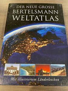 2003 Hardcover Der Neue Grosse Bertelsmann Weltatlas Mit Illustriertem