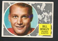 1960 Topps Canadian Football Card #49 Bill Bewley-Montreal Alouettes-