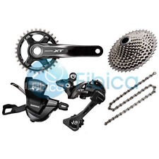 New 2019 Shimano Deore XT M8000 11s Group Groupset 30/32/34t 170/175mm 40-46t