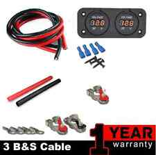 WIRING KIT TO SUIT REDARC SBI12 DUAL BATTERY SYSTEM ISOLATOR 12V DUAL BATTERY
