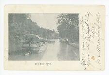 Chesapeake & Ohio Towpath—Antique Early UDB Cumberland MD C&O Canal 1906