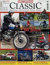 Motorrad Classic 3/06 2006 Ducati 851 Superbike CB400 Four Maico MD 250 MV 83 cc