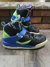 Nike Jordan Flight 45 High Top GS Rare Neon Green/RoyalBlue/Blk 524865-029 Sz 7Y