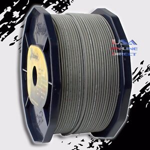 GRAY 16 Gauge AWG 100% OFC Copper 400ft. Stranded Primary Remote Wire Cable USA