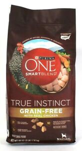 1 Purina One Smartblend True Instinct Grain Free with Real Chicken Adult Dog USA