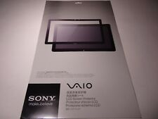 Sony VGP-FLS11 IT VAIO LCD Protection Sheet - Clear