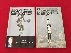 NBA San Antonio Spurs media guide yearbook / You pick 'em / Box 2020 / Duncan