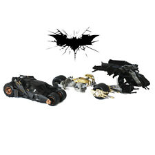 BATMAN Diecast BATMOBILE BATPOD & TUMBLER Collector's Edition
