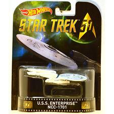 Hot Wheels Retro Entertainment Star Trek Enterprise NCC-1701 (Free Ship)
