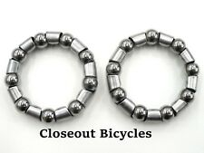"""2 (Two) x  Bicycle Crank American Std  BALL BEARING RETAINER 5/16"""" x 9 BALL"""