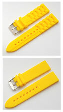 Cavadini Silicone (Rubber) Yellow watches-arm Band Very Good Quality .erhält