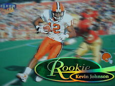 NFL 299R Kevin Johnson Rookie Fleer Ultra 1999