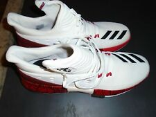 Adidas Louisville Cardinals basketball Team Issued Size 15 White Shoes NWOB