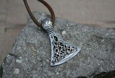 .925 Men Style Pendant Amulet Axe Viking Slavic Sterling Silver