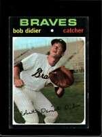 1971 TOPPS #432 BOB DIDIER EX BRAVES  *X7752