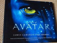 THE ART OF AVATAR James Cameron's epic adventure | art book
