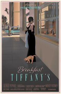Breakfast at Tiffany's by Laurent Durieux  - Very Rare Sold Out Not Mondo Print