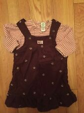 Little Me girls jumper and matching shirt size 18 months