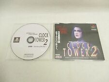 CLOCK TOWER 2 Trial Version Item ref/ccc PS1 Playstation Japan Game p1