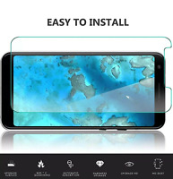 Google Pixel 3a Premium Protection Tempered Glass Screen Protector Clear