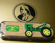 NEW Franklin Mint John Deere Model L 1938 Tractor Collector Knife New In Box COA