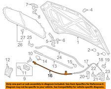 VW VOLKSWAGEN OEM 12-15 Passat Hood-Release Cable 561823531A