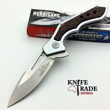 "United Cutlery GH5079 Hibben Hurricane 5"" Pocket Knife 7Cr17 Stainless G10 EDC"