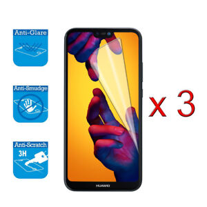 For Huawei P20 Lite - Screen Protector Cover Guard LCD Film Foil x 3