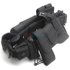 Police Officer Security Guard Law Enforcement Equipment Duty Belt Rig Gear Nylon