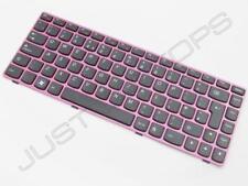 NUOVO Originale Lenovo Ideapad Z480 Z485 UK inglese QWERTY Tastiera Rosa