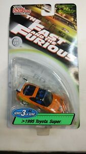 Racing Champions Fast and Furious  Toyota Supra Series 3 Card Error