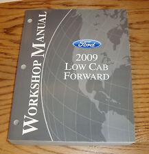 Original 2009 Ford Low Cab Forward Truck Shop Service Manual 09