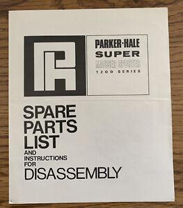 Parker-Hale super Mauser sporter parts list and instructions
