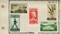 "1938 AFRICA ORIENTALE ITALIANA STAMPS  ""SOGGETTI VARI"" SET MLH FILED🔥"