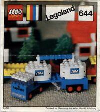 KEINE Steine Lego 386  Bauanleitung Sanitäter Hubschrauber Krankenwagen