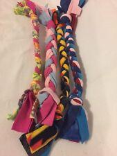 Homemade Dog Fleece Tug And Chew Toy - Set of 4 Homemade Toys 0710I